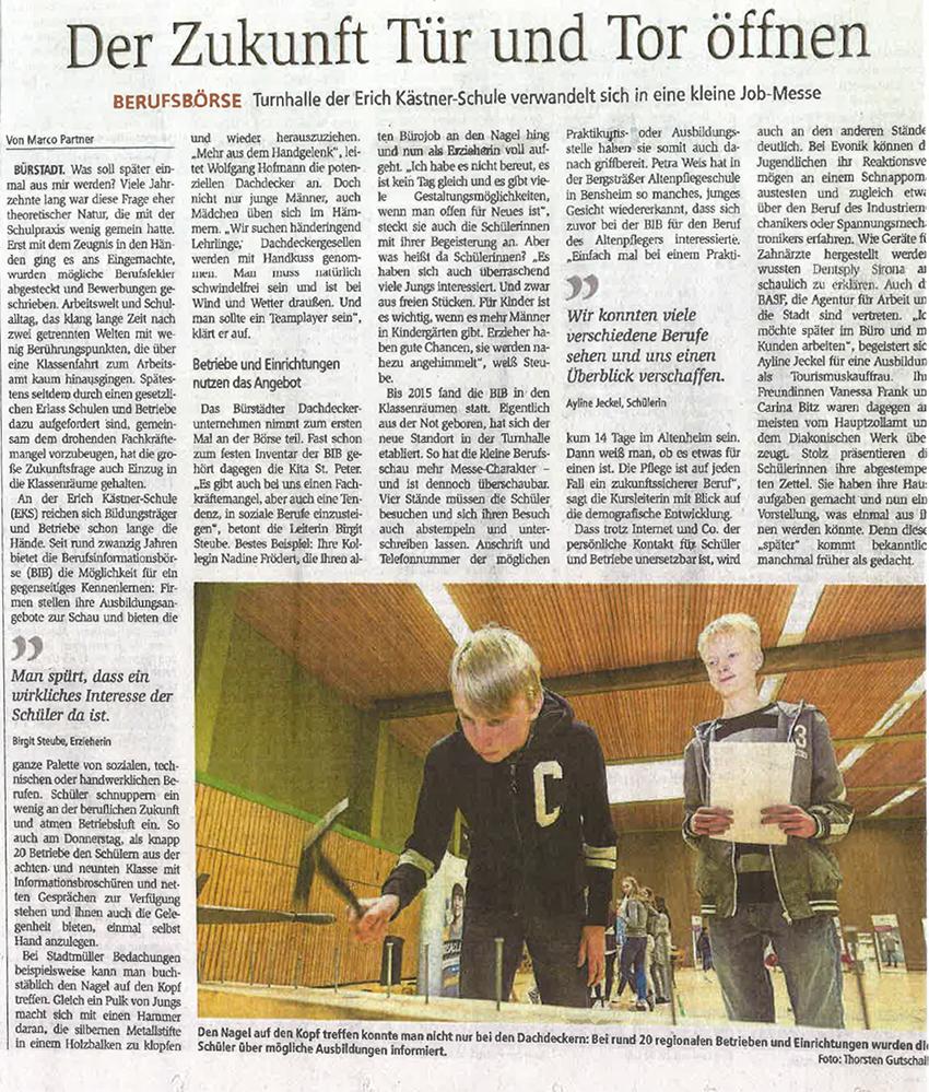 EKS Lehrlingstag_Zeitung